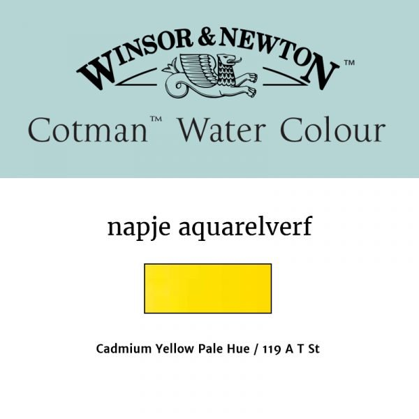 Cotman Cadmium Yellow Pale Hue