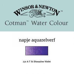 Dioxazine Violet aquarelverf