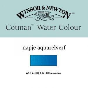Ultramarine Cotman aquarelverf